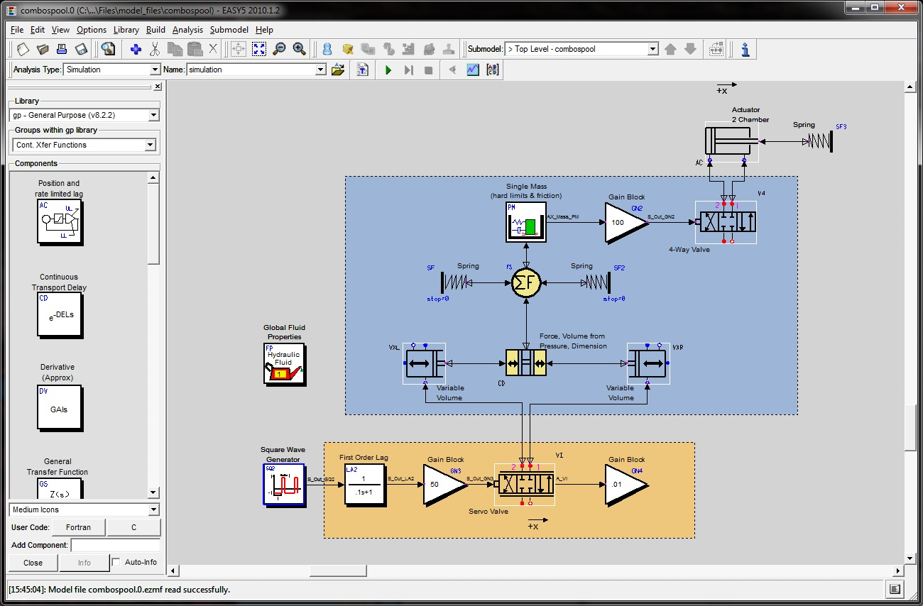 Easy5 Advanced Controls Systems Simulation Circuit Design And Free Electronics Software Download