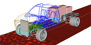 MSC Nastran Based Fatigue Lifecycle Predictions at Navistar-Tech Mahindra