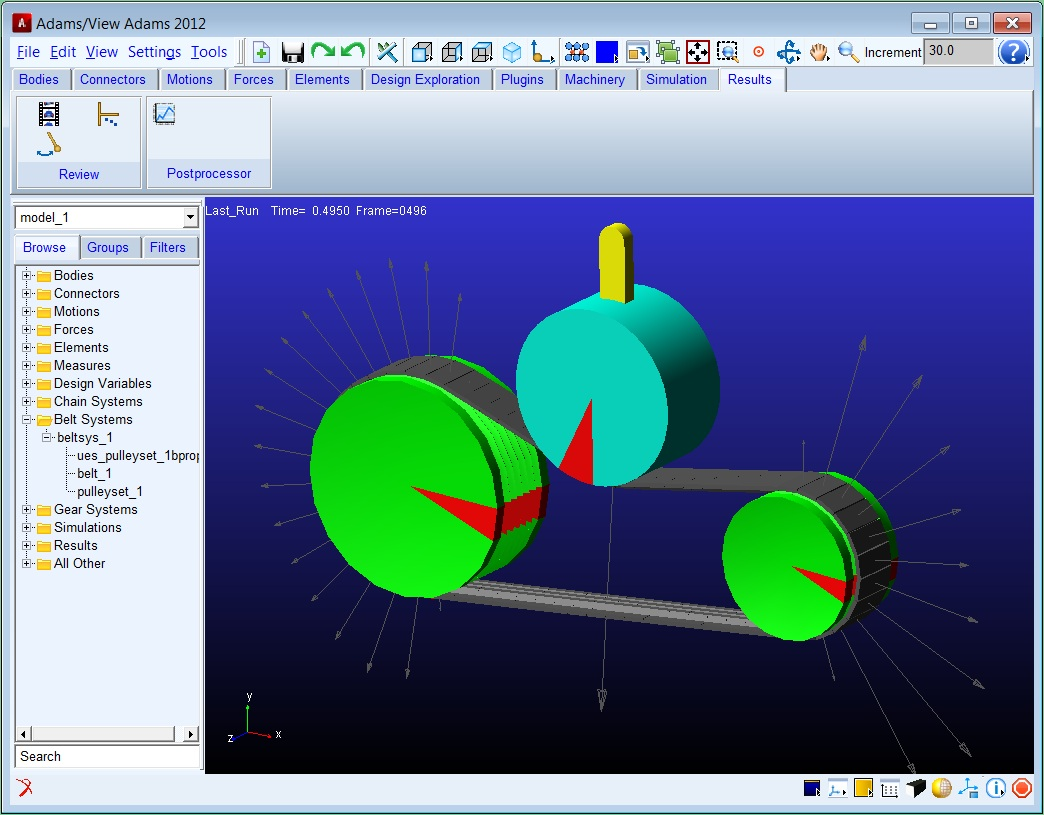 Adams Machinery - Simulation Suite for Mechanical Drive Systems
